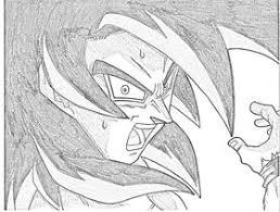 goku ssj4 drawing