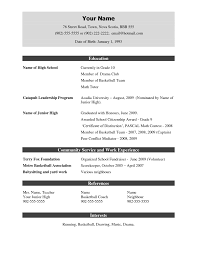 Free Sample Resume Template by Resume Templates Free Download Doc