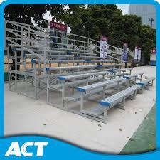 Stadium Bench China Metal Bleacher Plastic Chair Aluminum Steel Seats Assemble