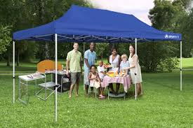 10 X 20 Shade Canopy by Gigatent The Party 20 Ft W X 10 Ft D Steel Pop Up Party Tent