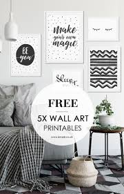 775 best home interior ideas images on pinterest living room free printables for your home gallery wall black and white minimalist free wall art prints