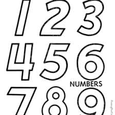 numbers color print give coloring pages gif
