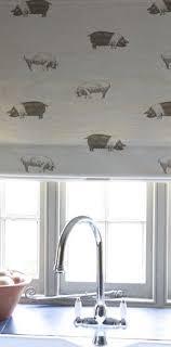 kitchen blind ideas kitchen blind in emily bond saddleback pig fabric pigmania