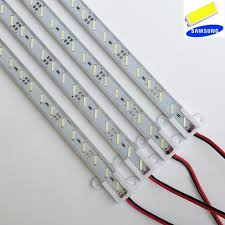 12v led light bar 6pcs 8520 smd led strip lights 12v led desk l with hard light bar