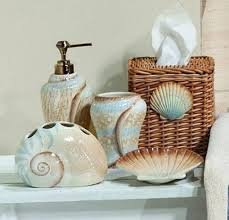 Seashell Bathroom Decor Ideas Bathroom Coastal Bathroom Decorating Ideas Seashell Wall Decor