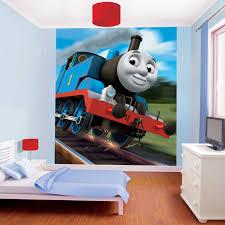 walltastic thomas the tank engine wallpaper mural 39 99