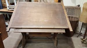 Drafting Table Wooden Antique Wooden American Drafting Table U2013 Antiquities Warehouse