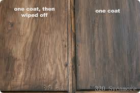 Wood Stained Cabinets Easy Gel Stain For Those Oak Cabinets 320 Sycamore