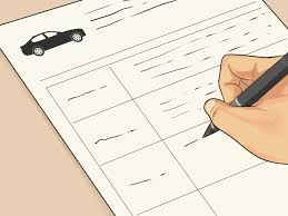 Bill Of Sale For Private Car Sale by The Best Way To Buy A Used Car From A Private Party Wikihow