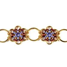 mail flowers 88 best images about chainmaille bracciali on chain
