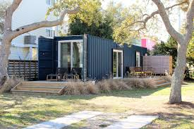where we live carolina beach local transforms shipping container