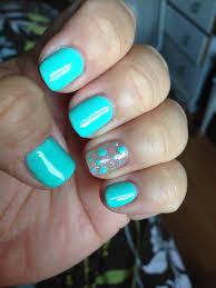 gorgeous aqua blue gel nails i bought some ebay gel polish and