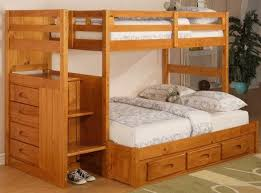Bed With Stairs And Desk Bunk Beds With Stairs Twin Over Full Twin Over Full Size Bunk Bed