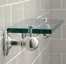 Glass Shelves For Bathroom Wall Glass Shelf Brackets Appliance In Home