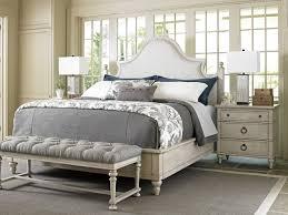 oyster bay arbor hills upholstered bed lexington home brands