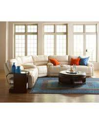 Reclining Sectional Sofas by Nina 3 Piece Leather Power Reclining Sectional Sofa Furniture