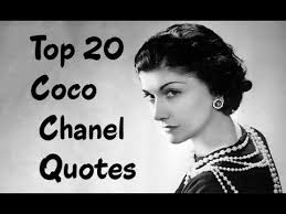 coco chanel history biography top 20 coco chanel quotes the french fashion designer youtube