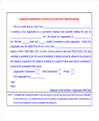 no objection letter for employee work certificate template 9 free word pdf document download
