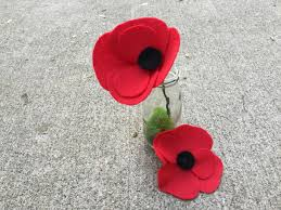 how to make felt poppies how tos diy