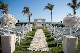 outdoor wedding ceremony wallpaper