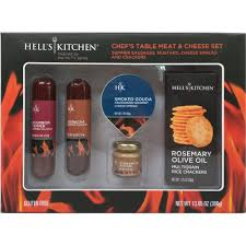 Kitchen Chef Table by Hell U0027s Kitchen Chef U0027s Table Meat U0026 Cheese Set Holiday Gift 13 65
