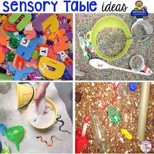 how to build a sensory table sensory table fillers tools pocket of preschool