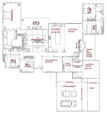 split ranch floor plans l shaped one story house plans webbkyrkan com webbkyrkan com