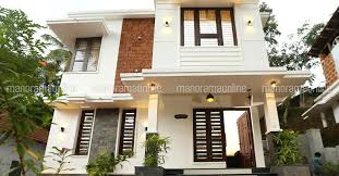 home design for 1100 sq ft 3 bhk double floor contemporary styled home design at 1100 sq ft
