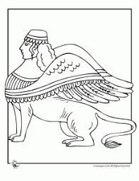 ancient egypt coloring page the double crown coloring page story of the world volume 1