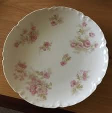 roses china haviland co limoges large pink roses china 6 scalloped