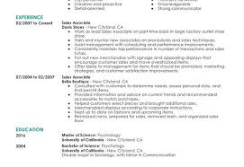 Job Description Of Sales Associate For Resume Resume Samples Retail Sales Associate 210 X 134 Part Time Sales