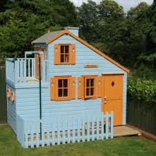 Playhouse Design Wooden Garden Playhouse 5ft X 4ft 0