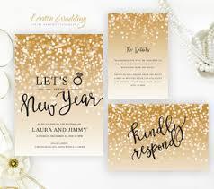 new years wedding invitations new year s wedding invitations lemonwedding
