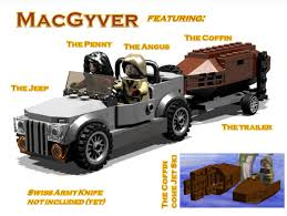 lego army jeep lego ideas macgyver the jeep and the coffin jet ski