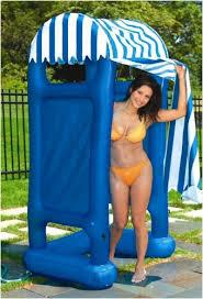 Outdoor Shower Enclosure Camping - inflatable outdoor shower cabana amazon co uk garden u0026 outdoors