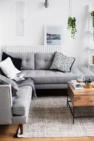 Livingroom Couches Best 25 Grey Sofa Decor Ideas On Pinterest Grey Sofas Gray