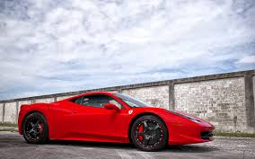 ferrari 458 italia wallpaper side view of a ferrari 458 italia wallpaper car wallpapers 51997