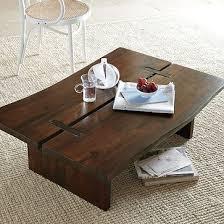 west elm wood coffee table raw edge coffee table west elm on we heart it