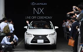 toyota line of cars chinese regulators probing lexus operation toyota says the