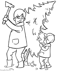 christmas tree coloring pages 011
