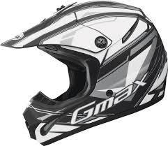 flat black motocross helmet 69 96 gmax 46 2x traxxion helmet 229038