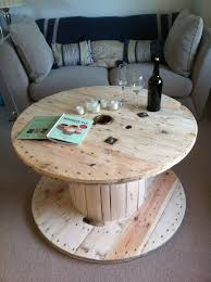 cute cable reel table recycling furniture pinterest cable