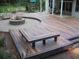 lovely deck pit ideas gas pit wood deck outdoor decking
