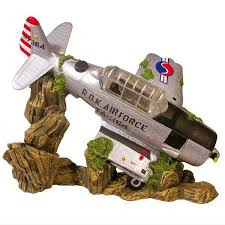 plane wreck ornament on sale free uk delivery