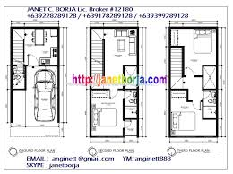 Three Story Townhouse Floor Plans Cubao Q C Townhouses Project