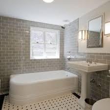 1930s bathroom ideas kleines badezimmer mit grauer dusche weißem godmorgon