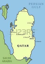 doha qatar map 680 doha qatar stock vector illustration and royalty free doha