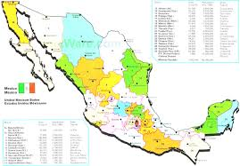 Mexican Map Road Map Of Mexico And Mexican Maps Fair Map The Country Mexico