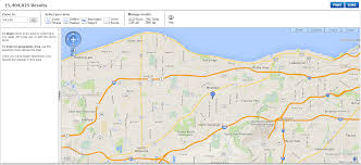 Zip Code Radius Map by Referenceusa U S Businesses Westlake Porter Public Library