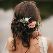 wedding flower hair bridal flower hair comb wedding bliss bridal